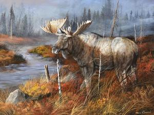 King at Water's Edge by Trevor V. Swanson