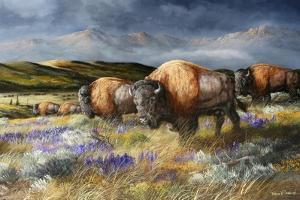 Spring Storm's Passing by Trevor V. Swanson