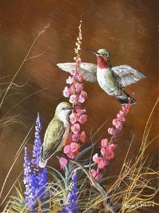 Spring Visitors by Trevor V. Swanson