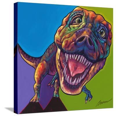 TRex-Ron Burns-Stretched Canvas Print
