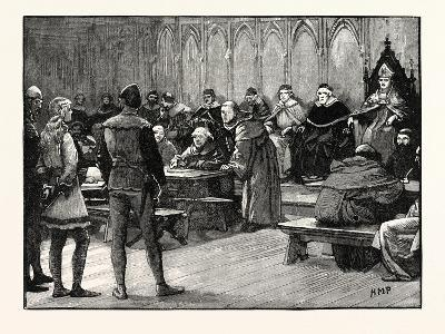Trial of Joan of Arc--Giclee Print