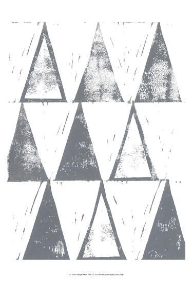 Triangle Block Print I-Grace Popp-Art Print