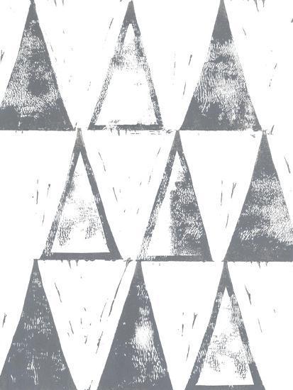 Triangle Block Print II-Grace Popp-Art Print