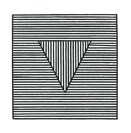 Triangle, c.1980-Sol Lewitt-Serigraph