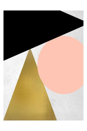 Triangle Circle 1-Kimberly Allen-Art Print