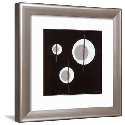 Triangle Circuit-Diane Moore-Framed Art Print