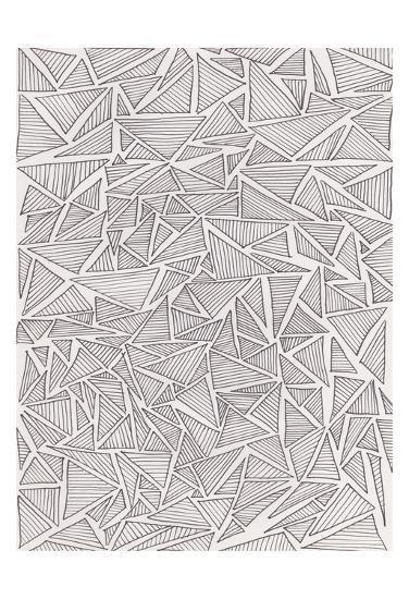 Triangle Jungle 2-Pam Varacek-Art Print