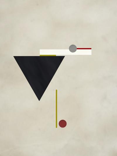 Triangle Love-Kevin Calaguiro-Art Print