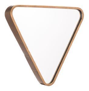 Triangle Mirror Gold