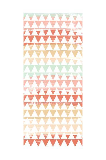 Triangle Multi-Linda Woods-Art Print