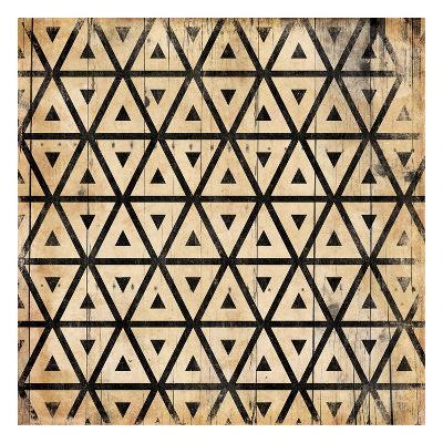 Triangle Pattern-Jace Grey-Art Print