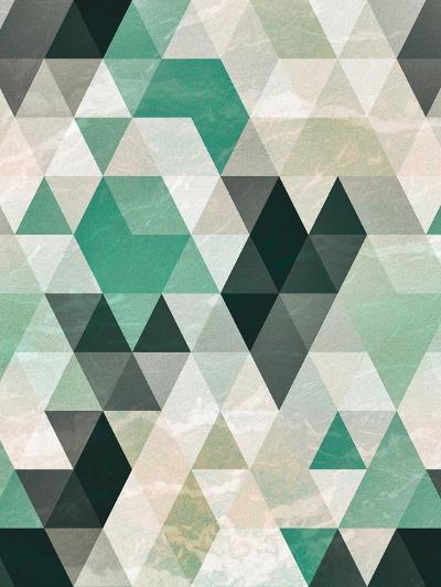 Triangle Pattern-Tai Prints-Art Print