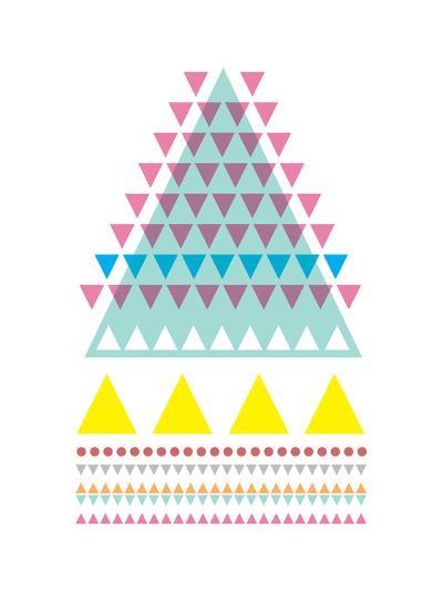 Triangle Peak-Moha London-Giclee Print