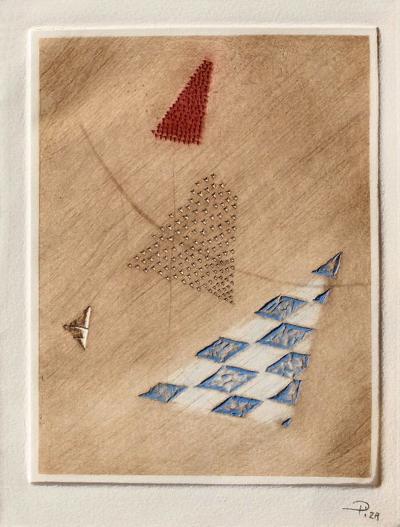 Triangle rouge-Arthur Luiz Piza-Limited Edition