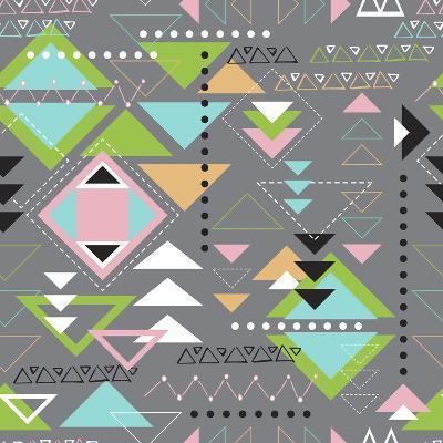 Triangle Tango-Joanne Paynter Design-Giclee Print