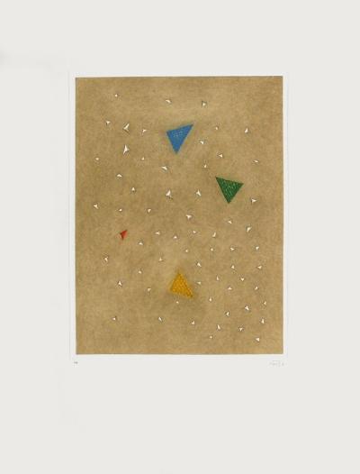 Triangle vert-Arthur Luiz Piza-Limited Edition