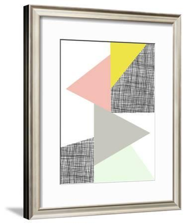 Triangle-Nanamia Design-Framed Art Print