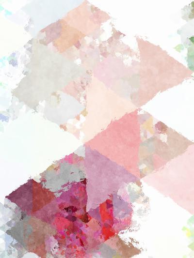 Triangles Abstract Pattern 11-Grab My Art-Art Print