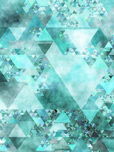 Triangles Abstract Pattern 15-Grab My Art-Art Print