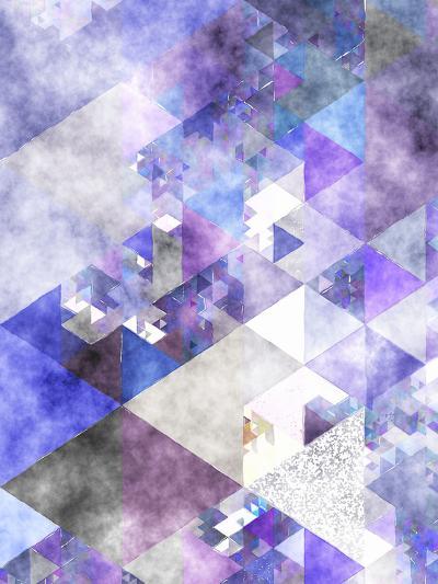 Triangles Abstract Pattern 17-Grab My Art-Art Print