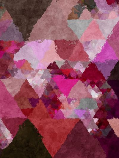 Triangles Abstract Pattern 19-Grab My Art-Art Print