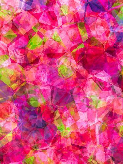 Triangles Abstract Pattern 22-Grab My Art-Art Print