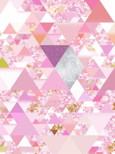 Triangles Abstract Pattern 25-Grab My Art-Art Print