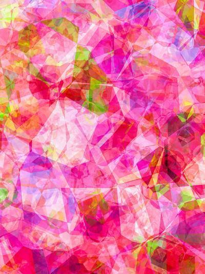 Triangles Abstract Pattern 26-Grab My Art-Art Print