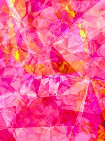 Triangles Abstract Pattern 27-Grab My Art-Art Print