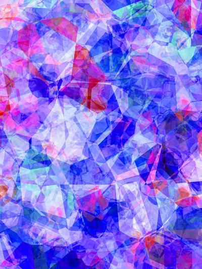 Triangles Abstract Pattern 30-Grab My Art-Art Print