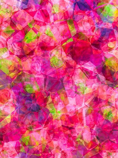 Triangles Abstract Pattern 31-Grab My Art-Art Print