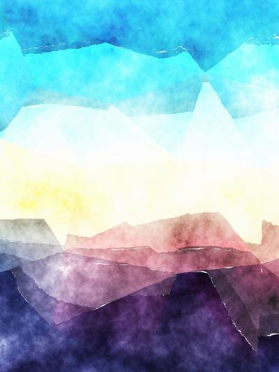 Triangles Abstract Pattern 3-Grab My Art-Art Print