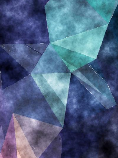 Triangles Abstract Pattern 5-Grab My Art-Art Print
