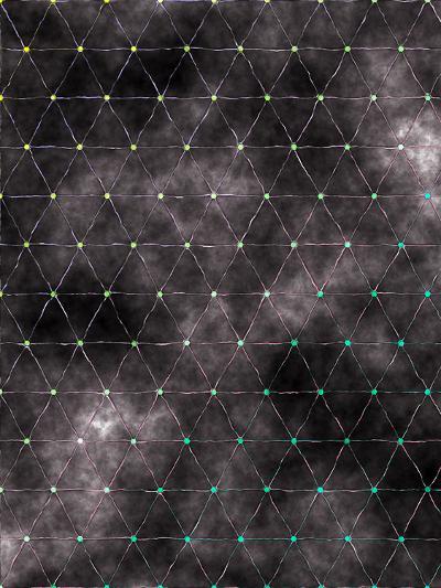 Triangles Abstract Pattern 8-Grab My Art-Art Print