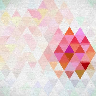 Triangles Abstract Pattern - Square 10-Grab My Art-Art Print