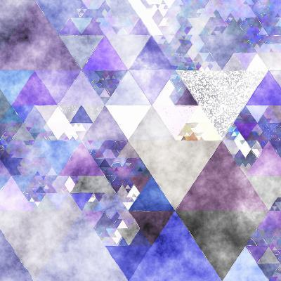 Triangles Abstract Pattern -Square 17-Grab My Art-Art Print