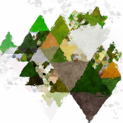 Triangles Abstract Pattern -Square 20-Grab My Art-Art Print