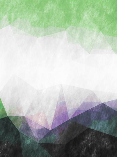 Triangles Abstract Pattern-Grab My Art-Art Print