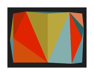 Triangulations n?5, 2013-Henri Boissiere-Serigraph