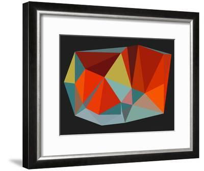 Triangulations n.6, 2013-Henri Boissiere-Framed Serigraph