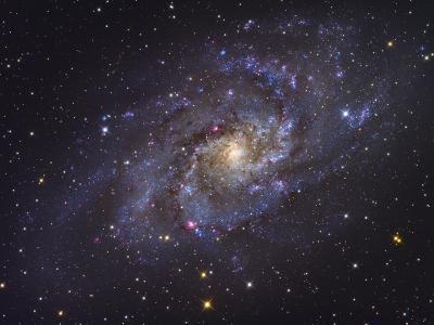 Triangulum Galaxy-Stocktrek Images-Photographic Print