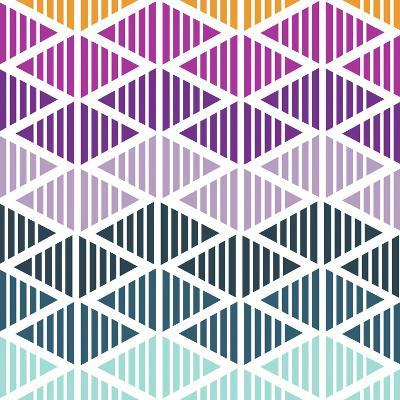 Tribal Arrows III-Nicole Ketchum-Art Print