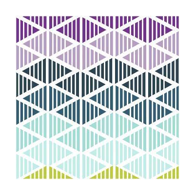 Tribal Arrows IV-Nicole Ketchum-Art Print
