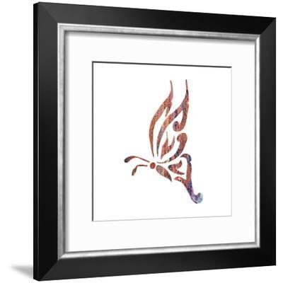 Tribal Butterfly 1-Melody Hogan-Framed Art Print