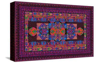 Tribal Display-Lawrence Chvotzkin-Stretched Canvas Print