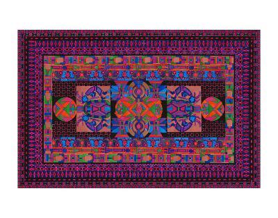 Tribal Display-Lawrence Chvotzkin-Art Print