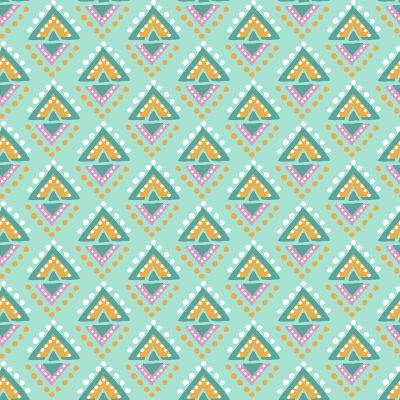 Tribal Dots-Joanne Paynter Design-Giclee Print
