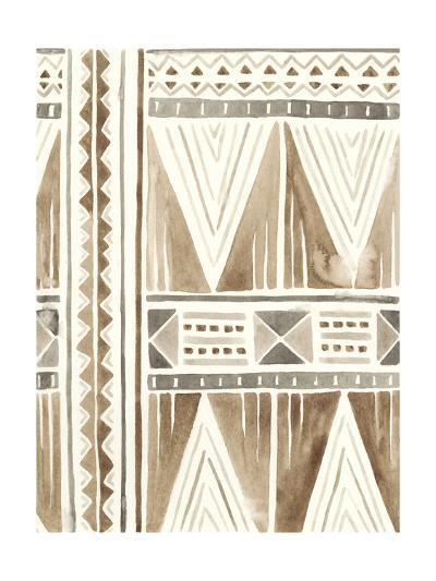 Tribal Impressions I-June Erica Vess-Art Print