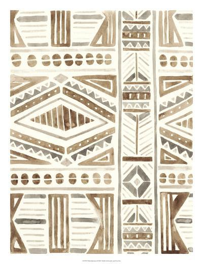 Tribal Impressions II-June Erica Vess-Giclee Print