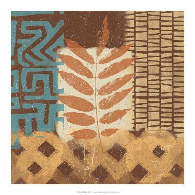 Tribal Life II-Alonzo Saunders-Art Print